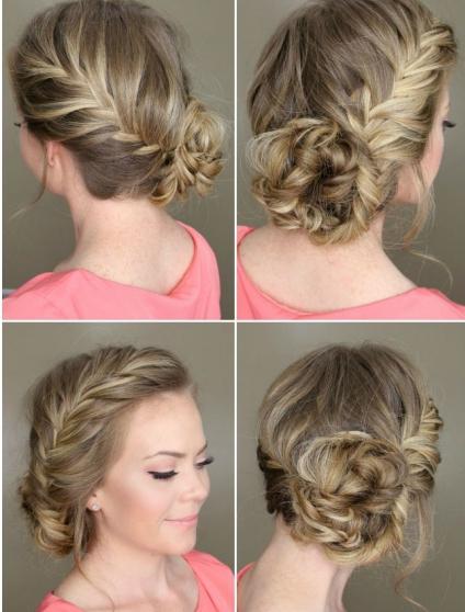 Плетение кос на короткие волосы: 10 вариантов с фото 76