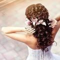 Свадебная прическа 2016