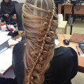 Укладка на длинные волосы