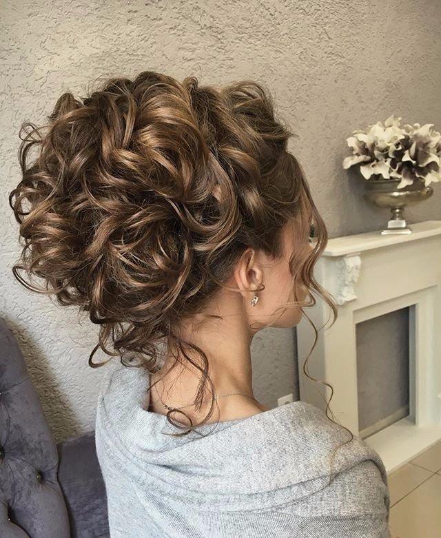 Вечерние прически длинные волосы фото