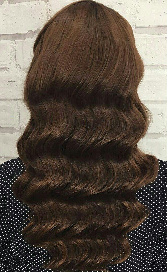 Вечерние прически на средние волосы локоны с челкой